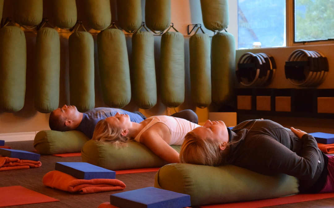 Restorative Yoga to Let Go of Stress